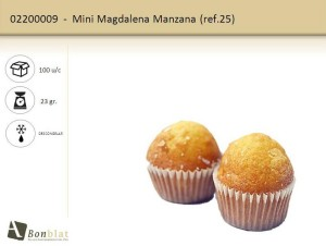 Mini Magdalena Manzana