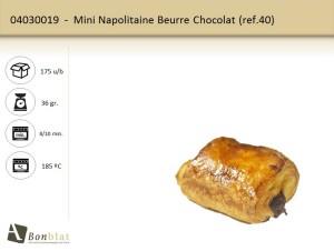 Mini Napolitaine Beurre Chocolat