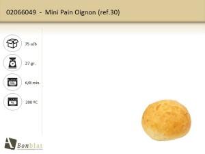 Mini Pain Oignon