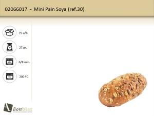 Mini Pain Soya