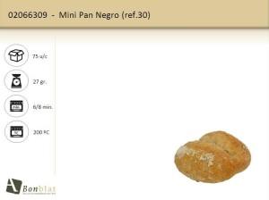 Mini Pan Negro