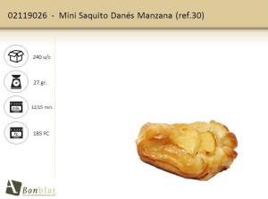Mini Saquito Danés Manzana