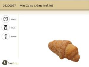 Mini Xuixo Crème