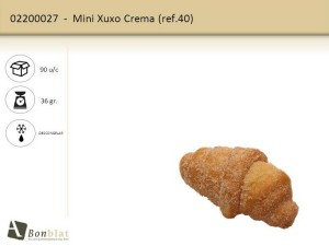 Mini Xuxo Crema