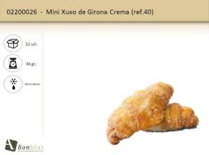 Mini Xuxo de Girona Crema