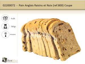 Pain Anglais Raisins et Noix