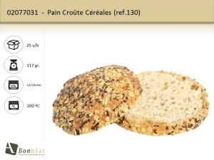 Pain Croûte Céréales