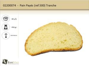 Pain Payés 500 Tranche