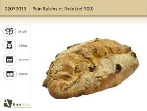 Pain Raisins et Noix