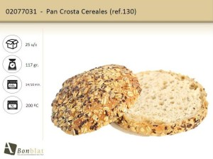 Pan Crosta Cereales