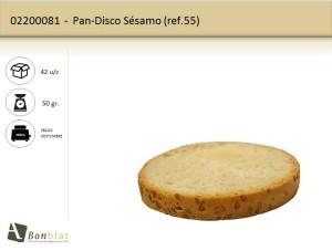 Pan Disco-Sésamo