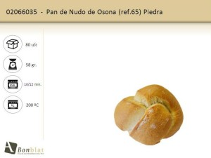 Pan de Nudo de Osona 65.