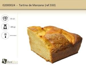 Tartina de Manzana
