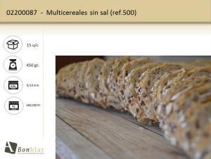 Multicereales sin sal